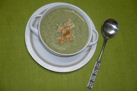 Creamy Spinach and Rosemary Soup